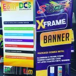 X Frame Banner Stand Trinidadsigns2