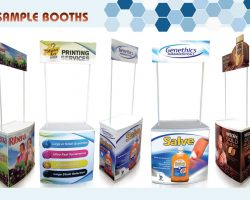 Sample and Promo Booths